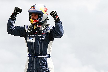 Heikkinen wins in World RX, Solberg leads the points