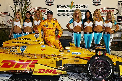 'Stolen win' could propel Hunter-Reay to another series crown