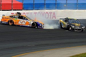 NASCAR Cup Commentary Breaking down a racing incident that got blown out of proportion