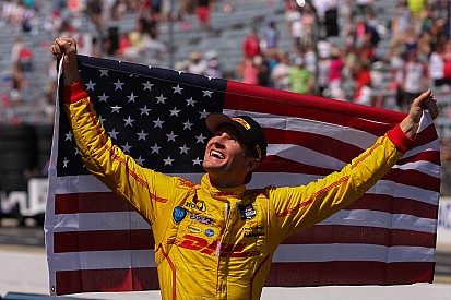 Ryan Hunter-Reay named Driver of the Year at the ESPY's