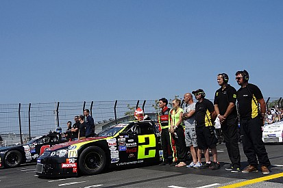 Vilarino leads NASCAR Euro the field at the Nurburgring