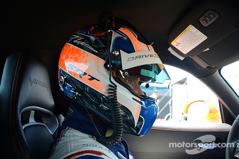 Kuno Wittmer on front row for Pirelli World Challenge race