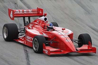 Rookie Alex Baron takes first Indy Lights pole