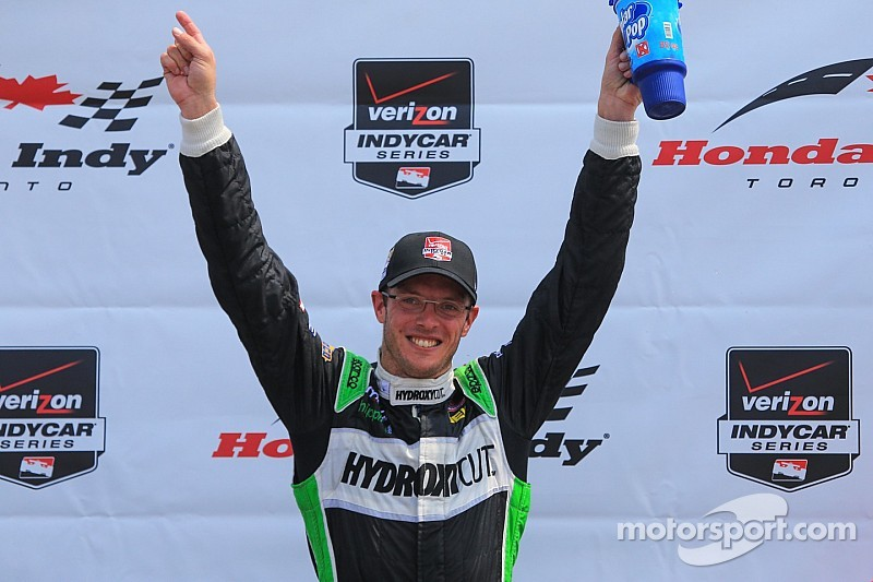 Bourdais is a winner again after a seven year hiatus from Victory Lane