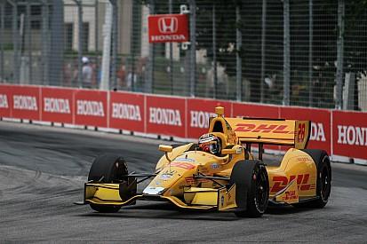 Ryan Hunter-Reay hits road block in IndyCar points climb