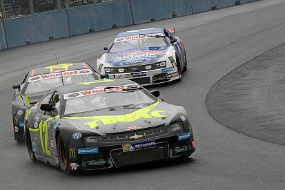 Gabillon finds his way back to NASCAR Euro victory lane