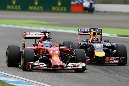 Ferrari on the German GP: Alonso fights tooth and nail for fifth
