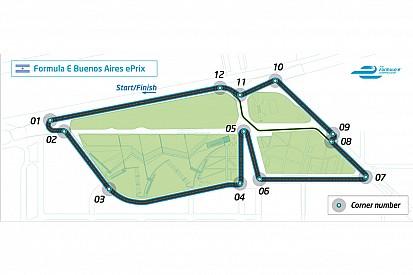 Formula E unveils track for Buenos Aires Eprix
