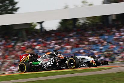 Nico Hulkenberg and Sergio Perez gets set for Budapest