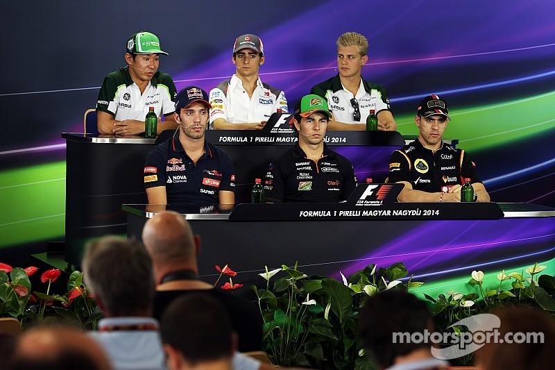 2014 Hungarian Grand Prix Thursday press conference