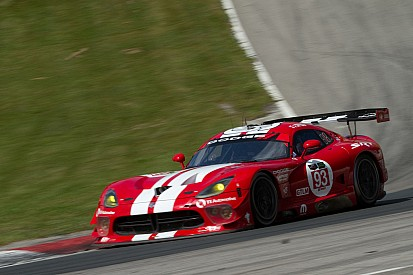 Vipers solidly in second row for Friday's TUDOR Championship race at Indy