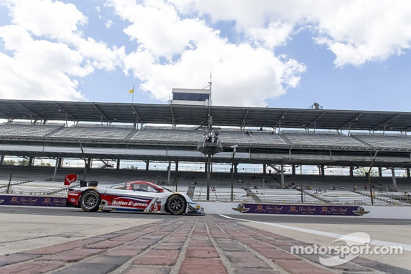 Second row start for Action Express Racing at Indianapolis