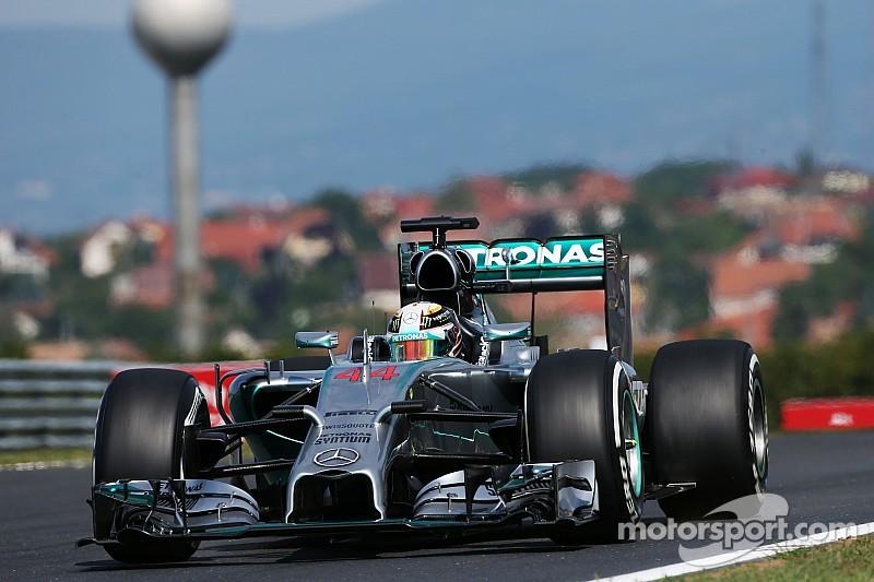 Hamilton slams Pirelli tyres in Hungary
