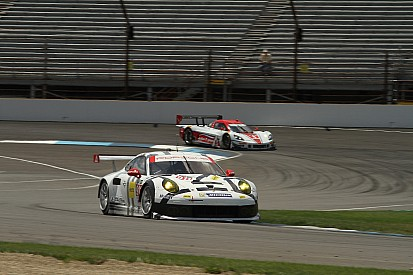 Porsche makes the podium at Brickyard Grand Prix