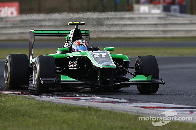 Stanaway storms to first pole in Budapest
