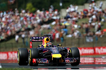 Red Bull will line up second and fourth on tomorrow's Hungarian GP