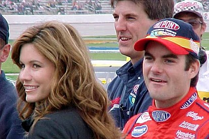 Jeff Gordon, Brooke Gordon, David Letterman, Drew Barrymore. And me.