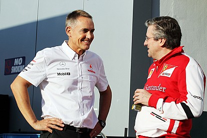 Marmorini out at Ferrari, Hakkinen worries about Fry