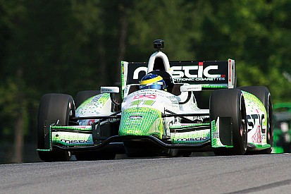 Bourdais fastest in second practice, Hunter-Reay fastest on Friday