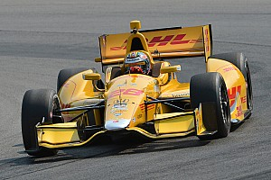 IndyCar Practice report Bourdais, Hunter-Reay lead opening day practice sessions at Mid-Ohio