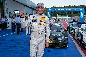 DTM Qualifying report Robert Wickens claims pole at Spielberg