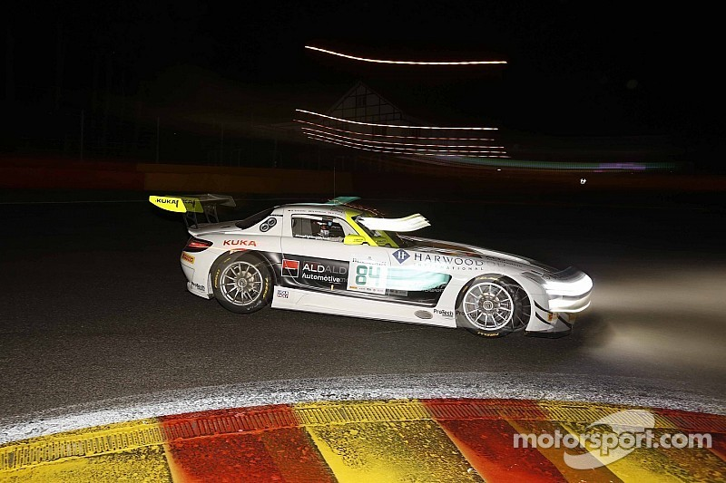 Nico Verdonck in the top 10 at the 24 Hours of Spa