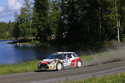 One thousand lakes and a podium for Kris Meeke on Rally Finland