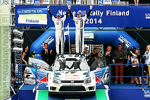 WRC Race report Latvala wins for the Finns