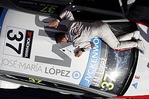WTCC Race report Lopez wins both races at home