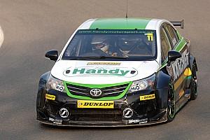 WTCC Race report Handy Motorsport's Belcher happy with three Snetterton finishes