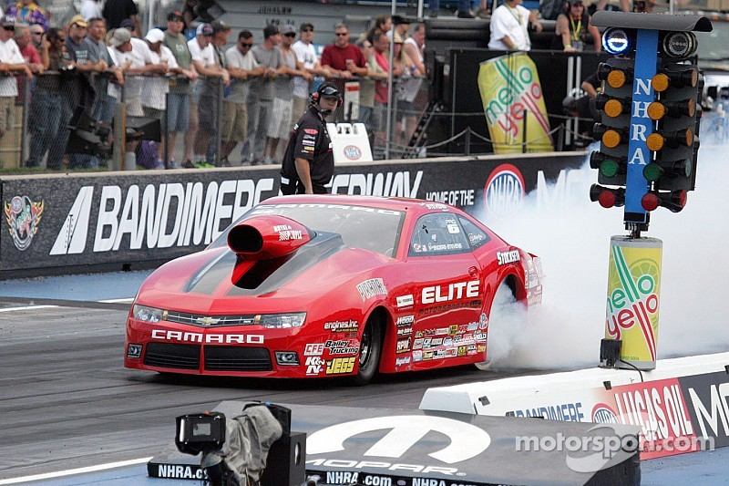 Enders-Stevens will have company in the Pro Stock field at Indy: Her husband
