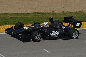 Indy Lights Breaking news All-new Indy Lights car makes its first public on-track appearance