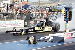 NHRA Preview Top Fuel rookie Richie Crampton knows importance of NHRA Nationals