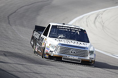 Sauter delivers win at Michigan for new crew chief
