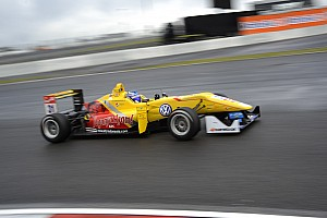 F3 Europe Qualifying report A pair of pole positions for Tom Blomqvist in the Eifel