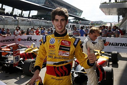 Antonio Giovinazzi wins from Tom Blomqvist
