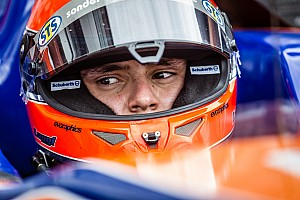 F3 Europe Race report Auers snatches victory from Blomqvist at Nurburgring