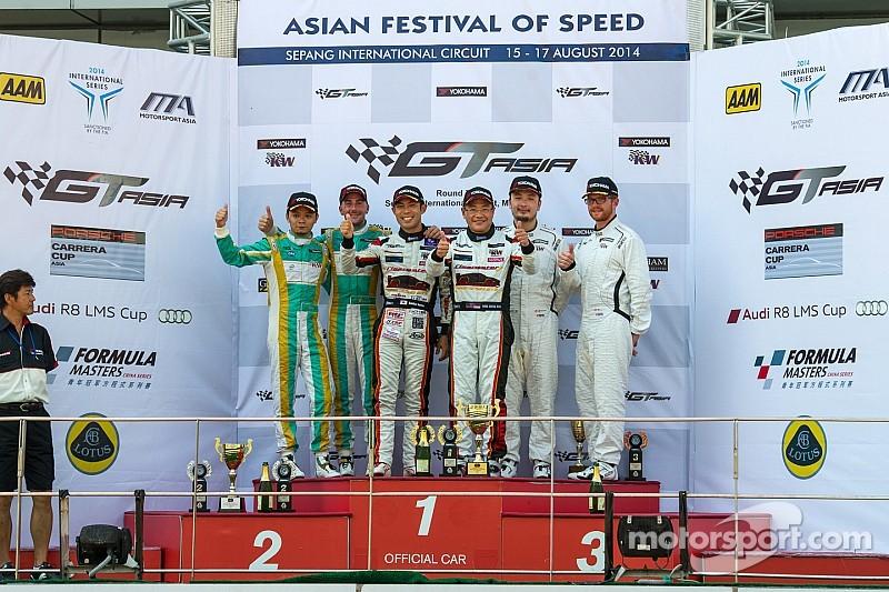GT Asia: Sawa and Mok make it three wins for 2014 at Sepang