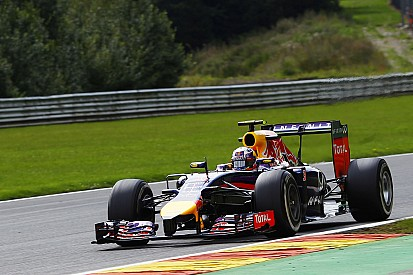 A mid-field result for Red Bull on Friday practice for the Belgian GP