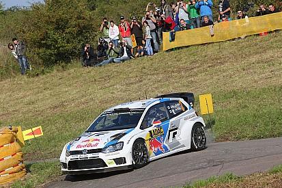Latvala leads Rally Germany as Ogier crashes