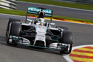 Formula 1 Qualifying report Rosberg took pole position for the Belgian GP