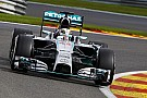 Rosberg took pole position for the Belgian GP