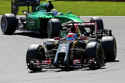 Both Lotus drivers suffered forced retirements from the Belgian GP