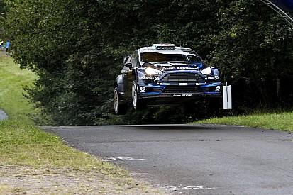 Evans powers to career best on Rallye Deutschland