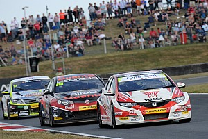 BTCC Race report Trio of new 2014 winners at Knockhill