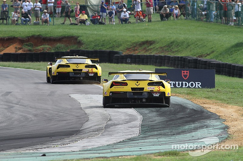 Corvette Racing has a long day at VIR