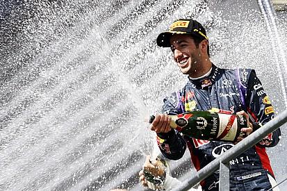 Daniel Ricciardo declares title hunt now on