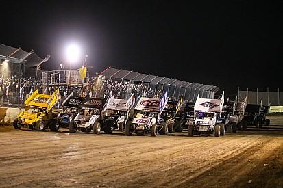 Sprint car racing, the show must go on