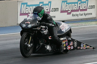 Pro Stock motorcycle rider John Hall hopeful for more Indy magic at 60th annual U.S. Nationals