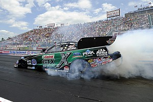 NHRA Qualifying report John Force drops rain-delayed final at Indy